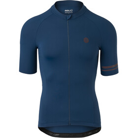 AGU Trend Solid II SS Jersey Men, azul